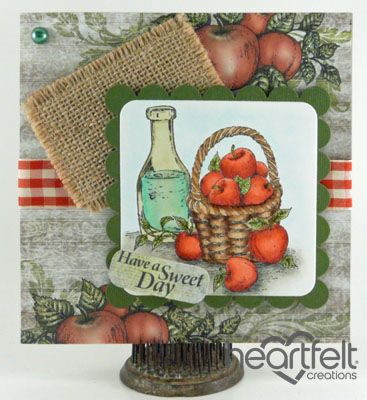 Heartfelt Creations | Country Apple Sweet Day