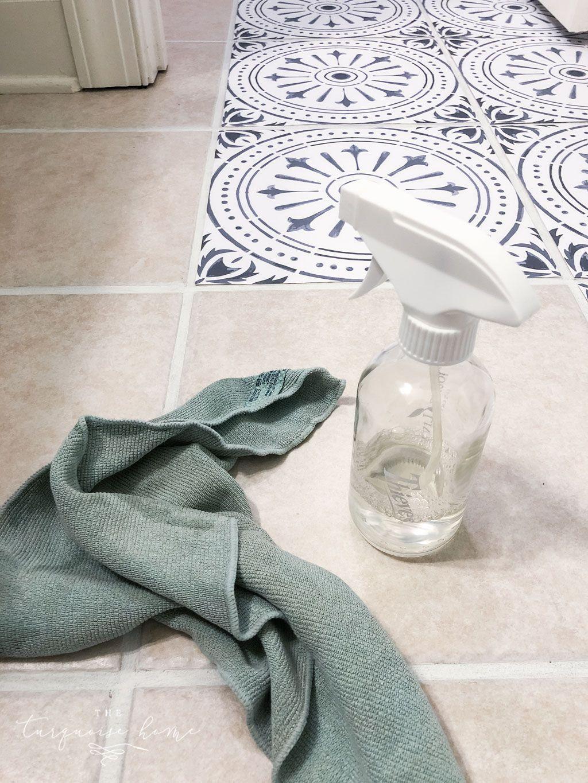 DIY Peel and Stick Vinyl Floor Tile Tile floor diy, Peel