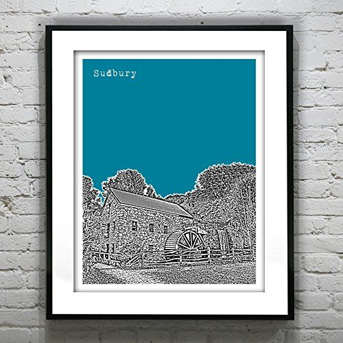 Sudbury Massachusetts Art Print - Sudbury, MA - Version 1. Sudbury Massachusetts Art Print - Sudbury, MA - Version 1 Handmade art of your favorite places! We travel, we photograph, we make art! These prints make great wedding gifts, wedding guest books, college graduation gifts, birthday and holiday gifts. ABOUT THE PRINT: Your print comes as an original Giclee print on high quality acid free Epson Matte photo paper using Ultracrome archival pigment inks. Your print will never fade…