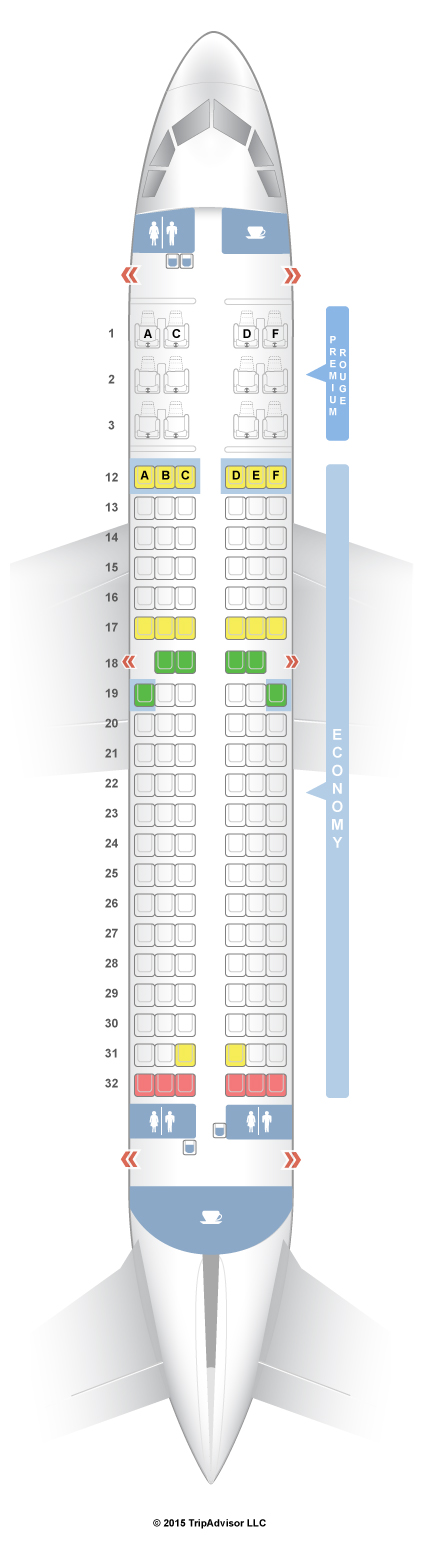 Seatguru seat map air canada airbus  rouge also rh pinterest
