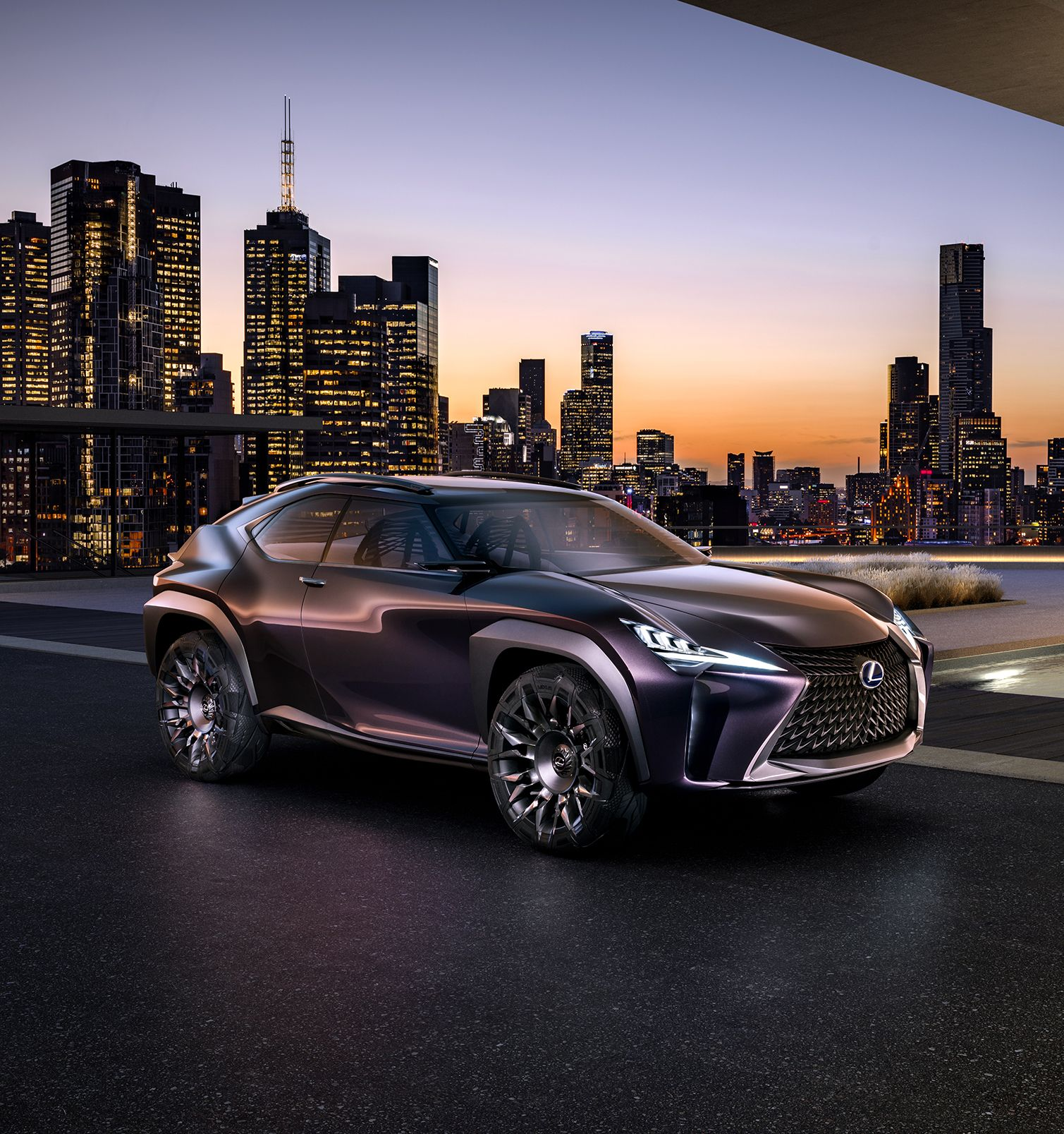 Radical Crossover Packaging The Ux Concept Is A New Variety Of Four Seater Crossover Which Contrasts The Almost B Lexus Crossover Lexus Suv Toyota Concept Car