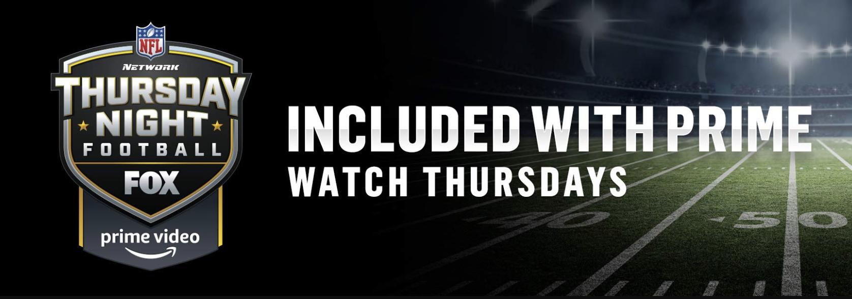 Starting Tonight Watch Thursday Night Football For Free On Amazon Thursday Night Football Thursday Football Football