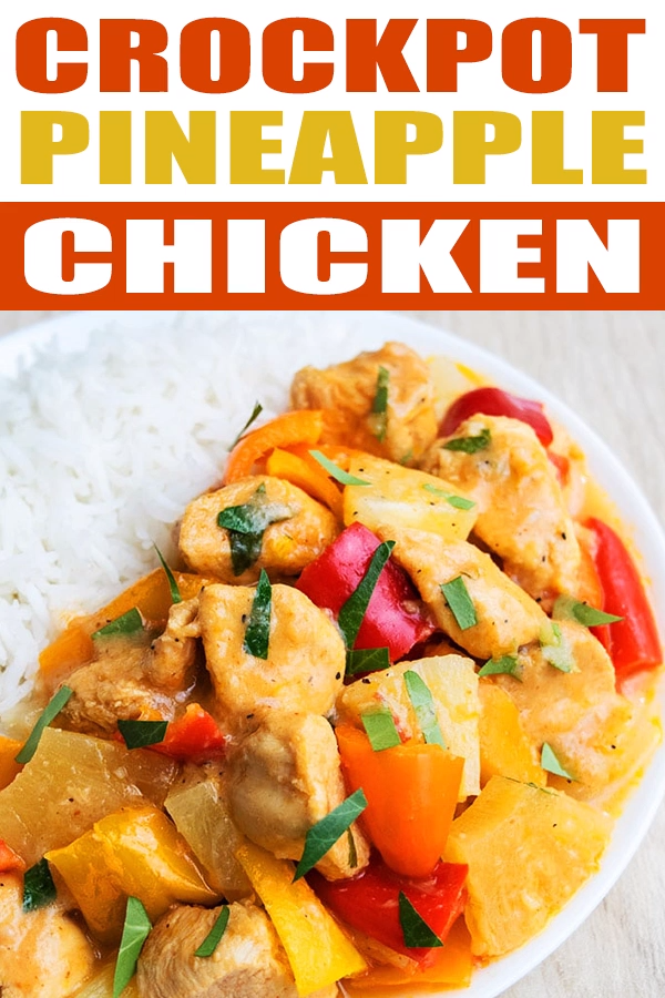 Crockpot Pineapple Chicken Recipe images