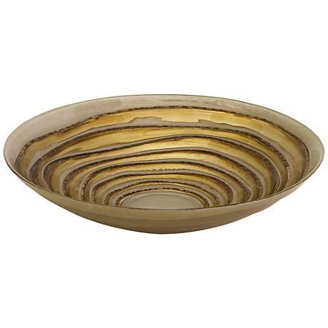 Gold Decorative Bowl Inspiration Tiffany Gold Decorative Glass Bowl  Decorative Glass Bowls Inspiration
