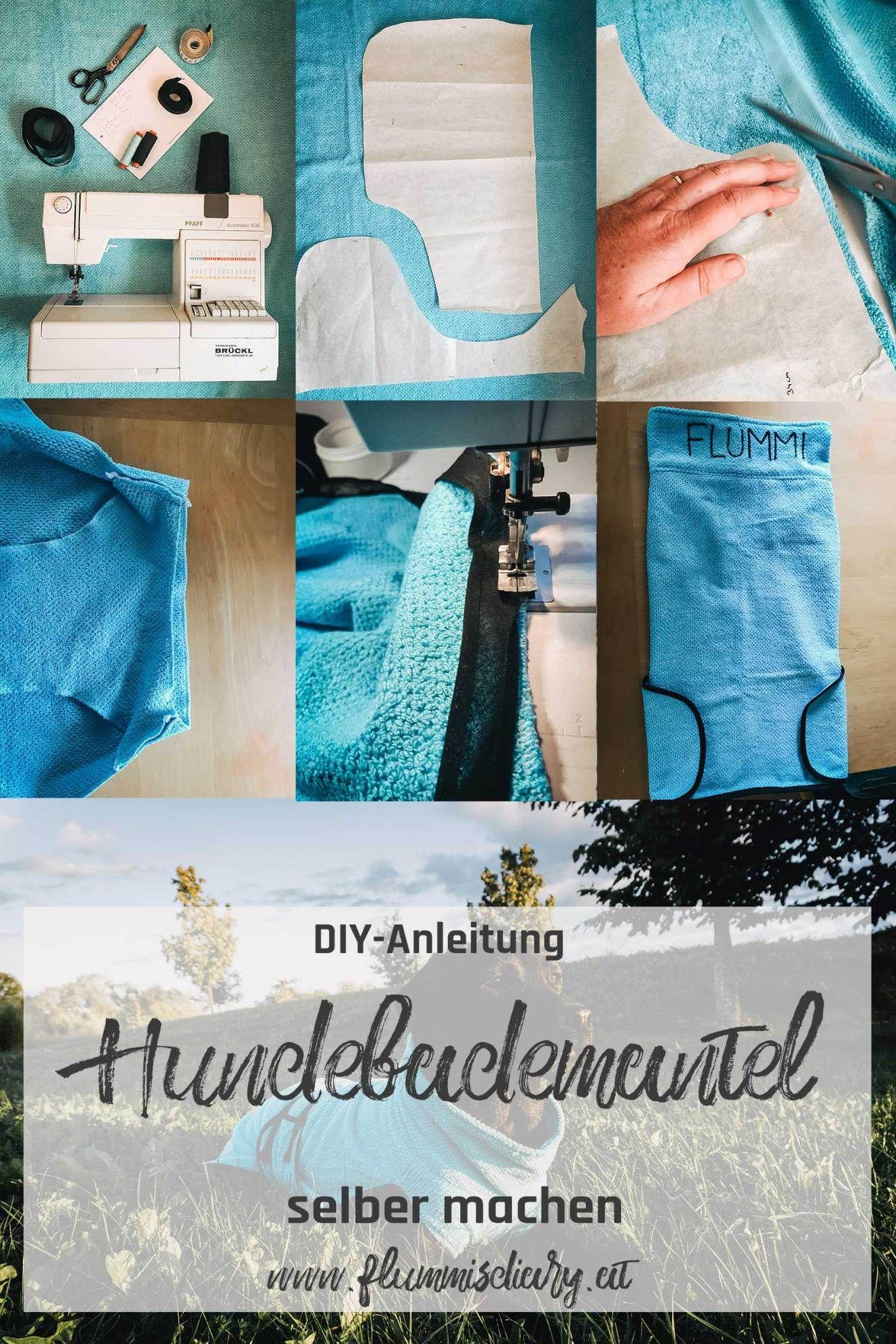 Photo of ➡ DIY Hundebademantel selber nähen – inkl. Schnittmuster zum Download