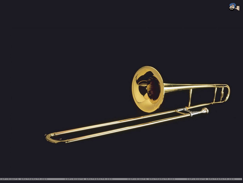 Hd Trombone Wallpaper Jazz Trombon Tocados