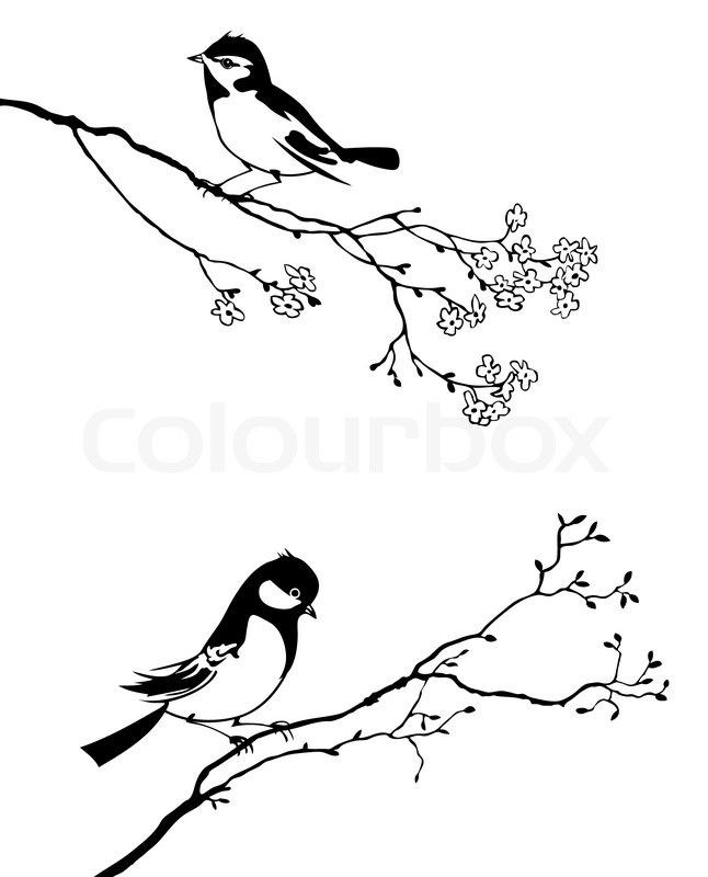 Pin By 1 A 1 On Tattoos Bird Silhouette Tree Branch Art Bird Silhouette Tattoos
