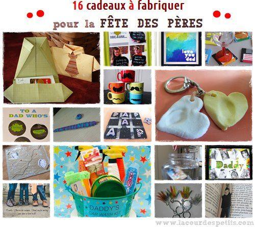 16 idées de cadeaux à fabriquer pour la fête des pères