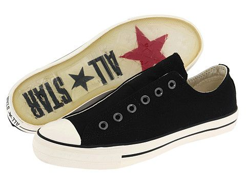 06aa2fa20f7a Converse by John Varvatos Chuck Taylor Vintage Slip Black Milk - Zappos.com  Free Shipping BOTH Ways