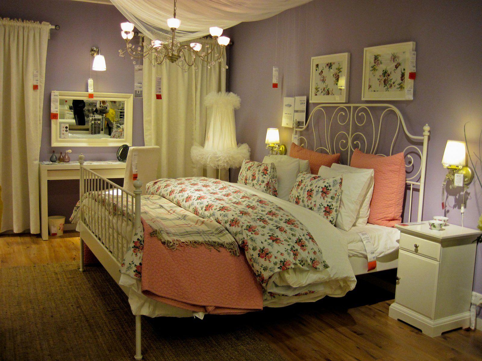 ikea vintage bed 3 LEIRVIK Bed frame King IKEA