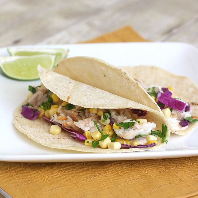 Fish Tacos with Chipotle Cream by Tracey's Culinary Adventures. /To try out!