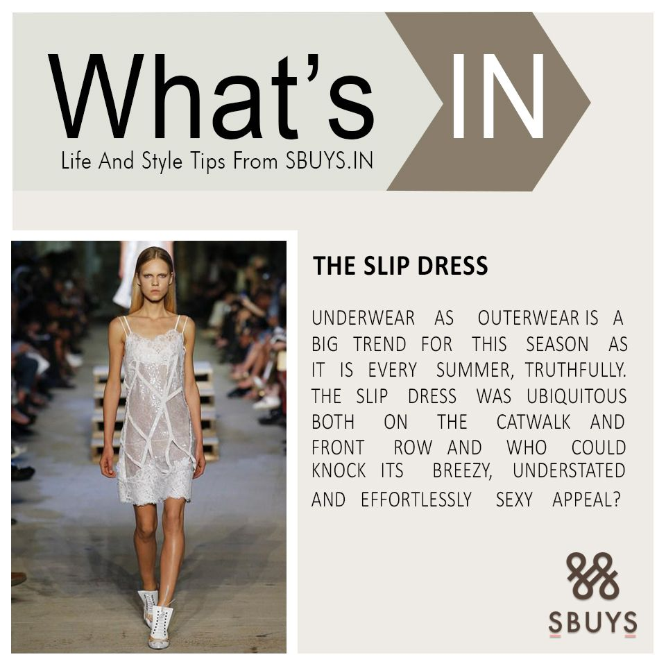 The slip dress trend try out sbuys life and style tips
