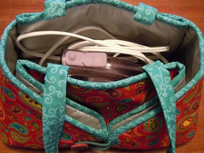 Travel Iron Caddy - Free pattern for a combination iron caddy ... : quilting ironing pad - Adamdwight.com