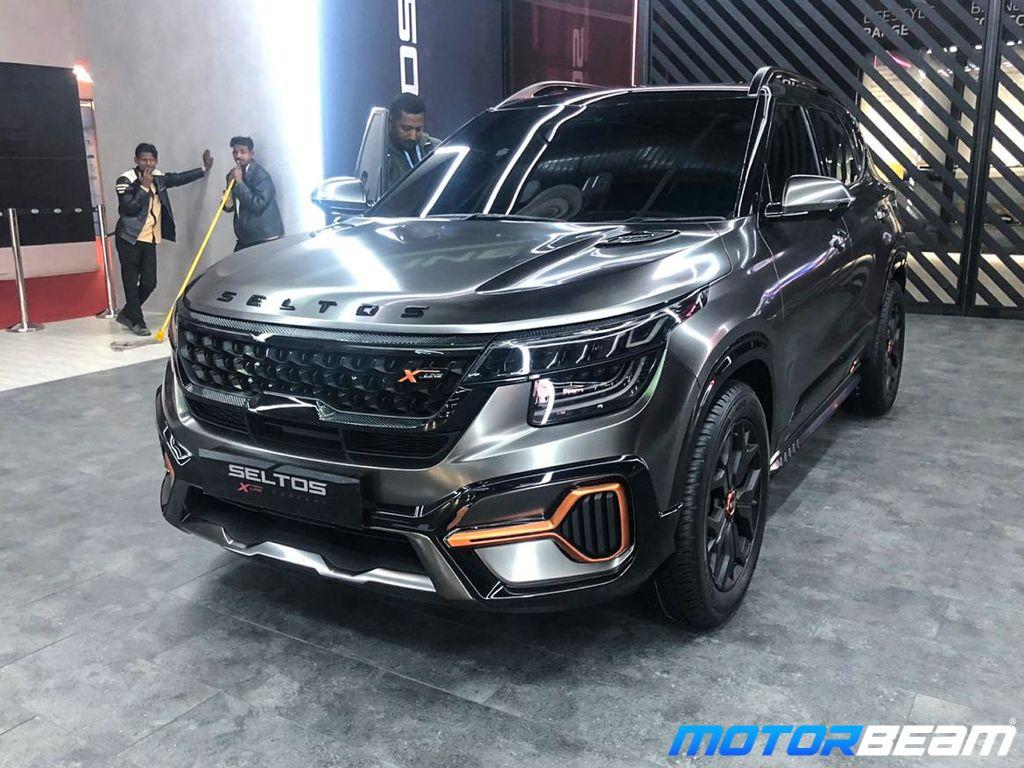 Kia Seltos X Line Concept Showcased At 2020 Auto Expo In 2020 Kia Kia Motors Dream Cars
