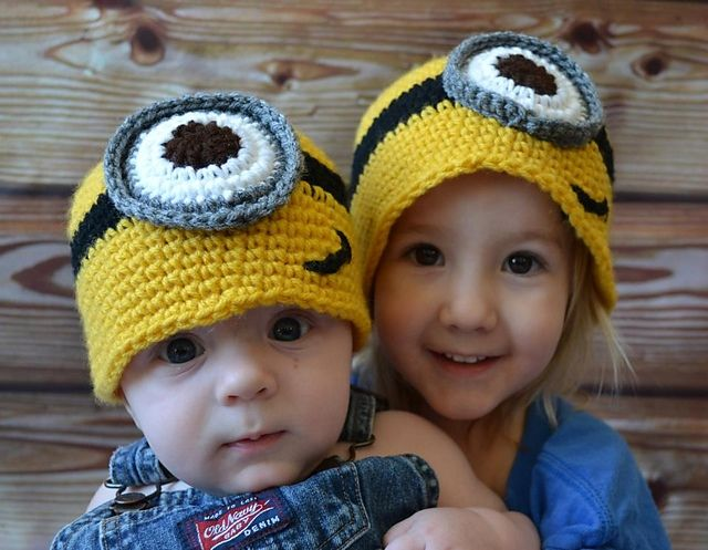 Minion Hat ~ free pattern | crochet & knitting ideas | Pinterest ...