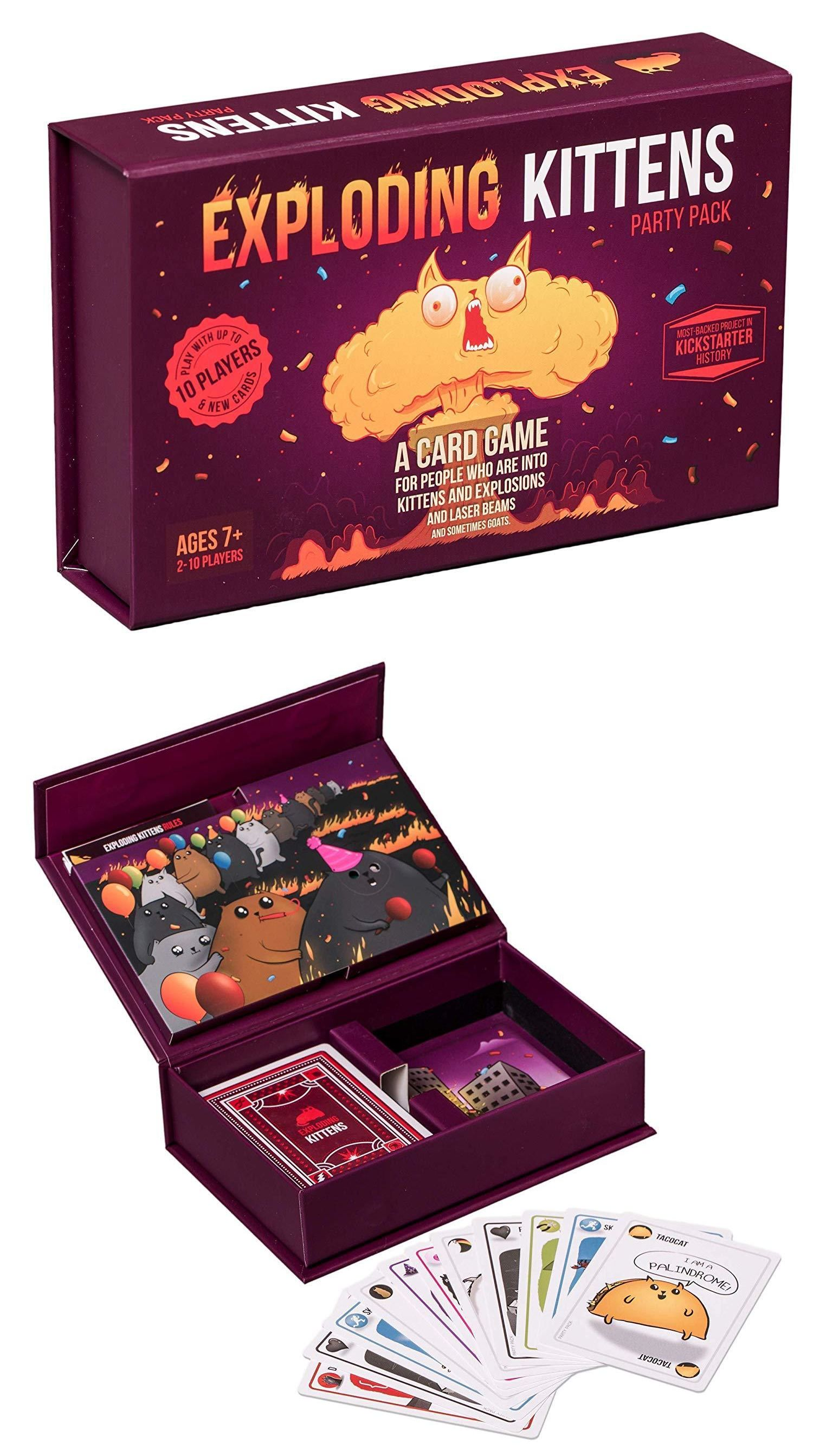 Other Card Games And Poker 2552 Exploding Kittens Party Pack