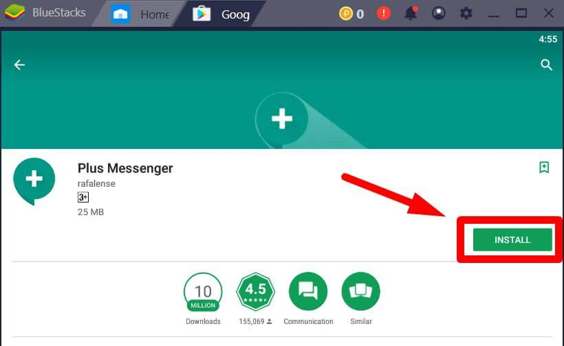 Plus Messenger for PC Windows Mac Computer – Free Download