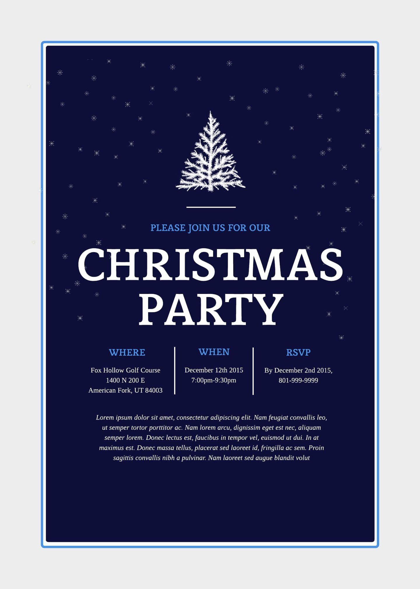 Free Christmas Party Invitations Template Luxury Print And Win Holid Christmas Party Invitation Template Christmas Party Invitations Free Party Invite Template