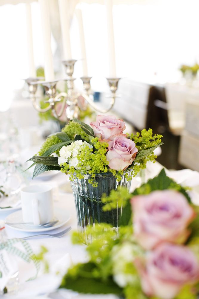 Flowers Green Blumenschmuck Grun Tischdeko Hochzeit Hochzeit
