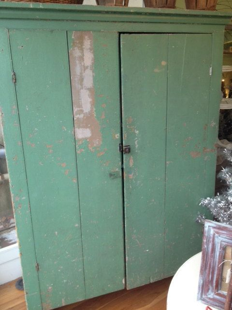 Antique Primitive Cupboard by TessHome on Etsy, $1500.00