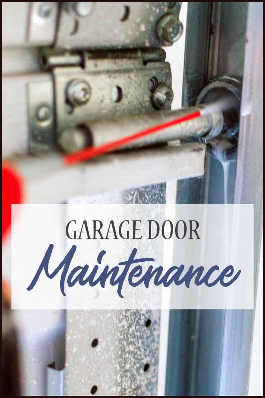 7 Easy Ways To Use Garage Door Lubricant Home Beautifully In 2020 With Images Garage Door Maintenance Garage Doors Garage Door Lubricant