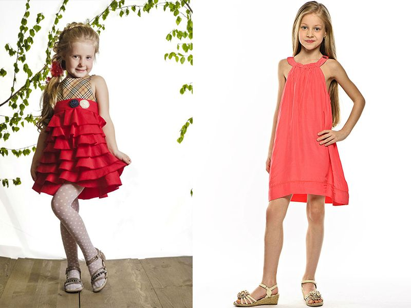 Модели платьев на детей