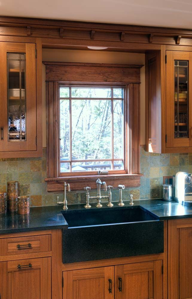 Prairie Style Cabinetry | Crown Point Cabinetry ...