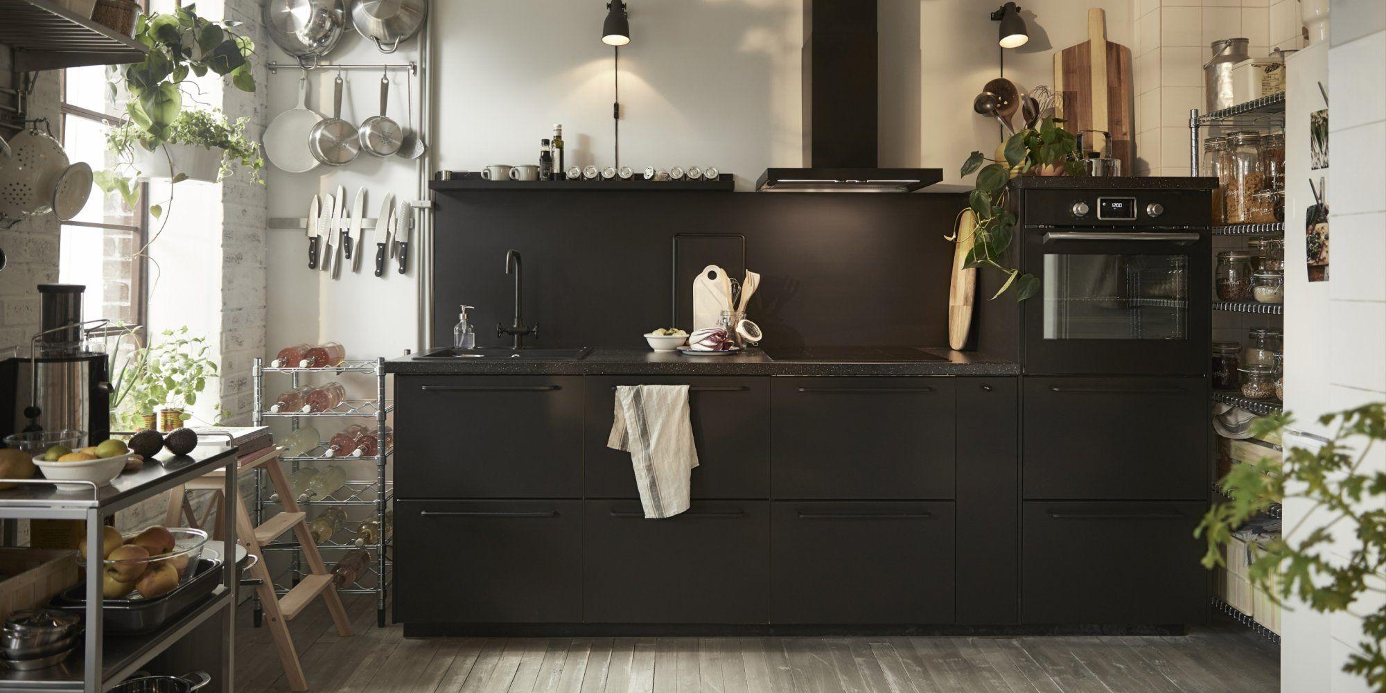 15 idées déco à piquer aux cuisines IKEA  Cuisine ikea, Ikea