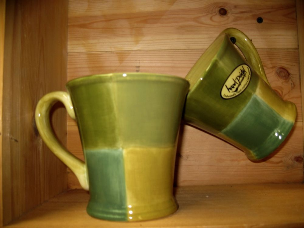 sage green coffee mugs