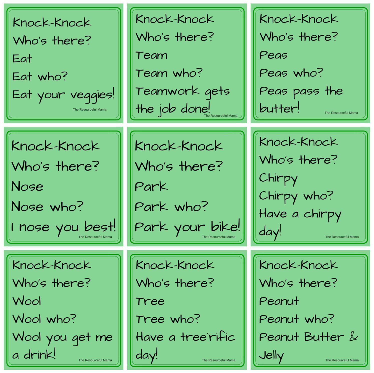 April Fool's Day KnockKnock Jokes for Kids Jokes for
