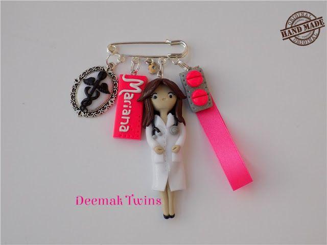 Deemak Twins: Customized Brooch ♥