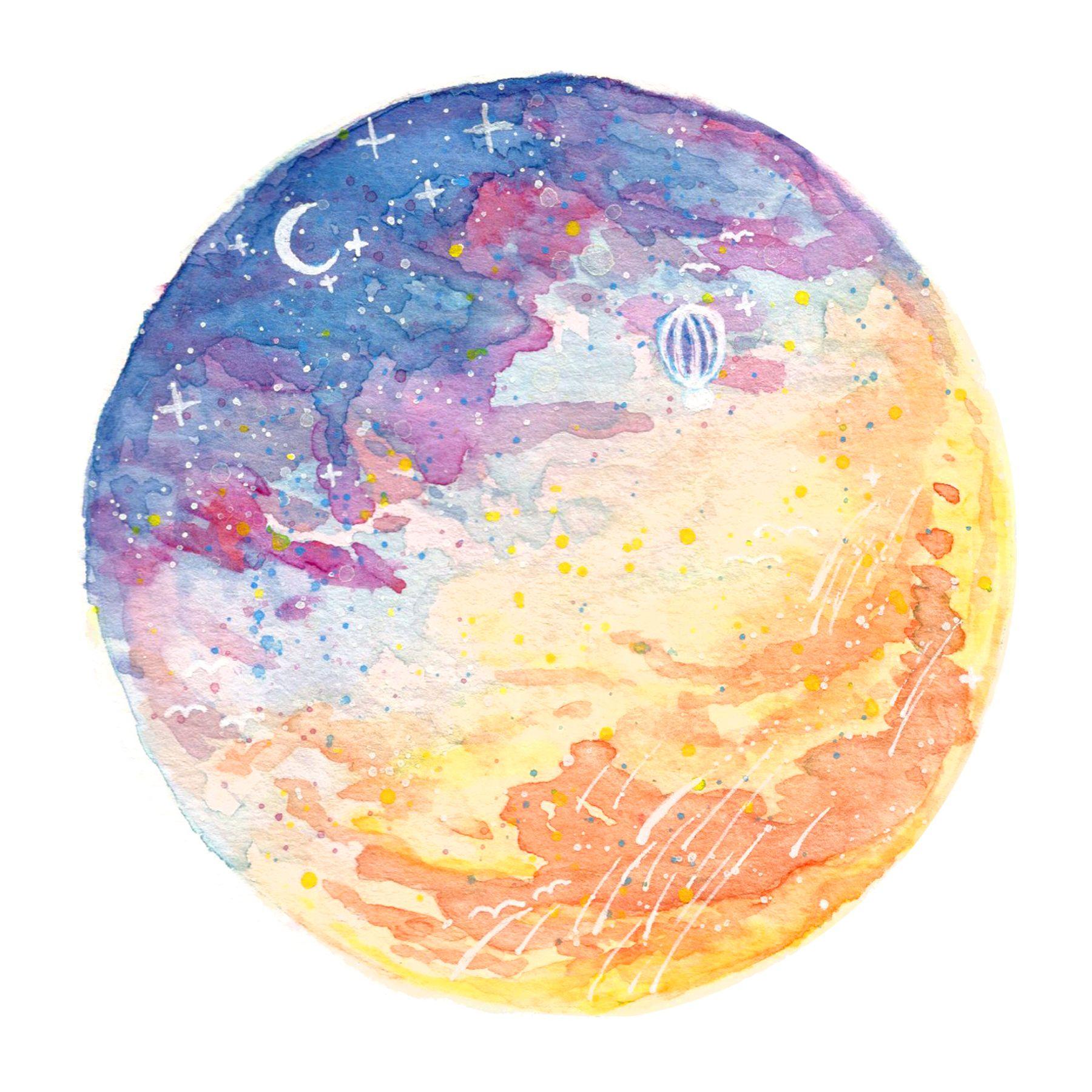 http://www.ebay.com/itm/Beautiful-Watercolor-Sky-Art-Prints-Set-Wall ...