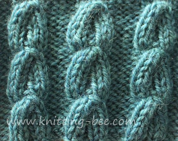 Free Chain Cable Knitting Stitch Cables Irish Ish