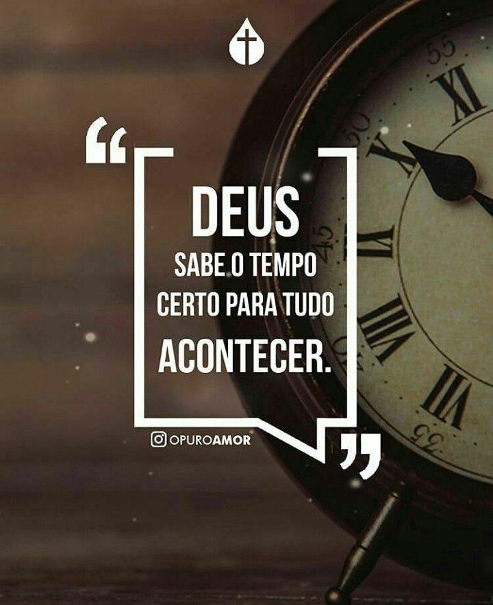 O Tempo De Deus Na Nossa Vida Faith
