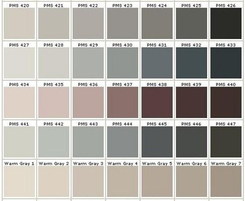 Different Shades Of Gray Google Search Property: different colours of grey paint