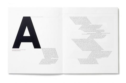 Great fun with the text shapes. Quartet « Studio8 Design