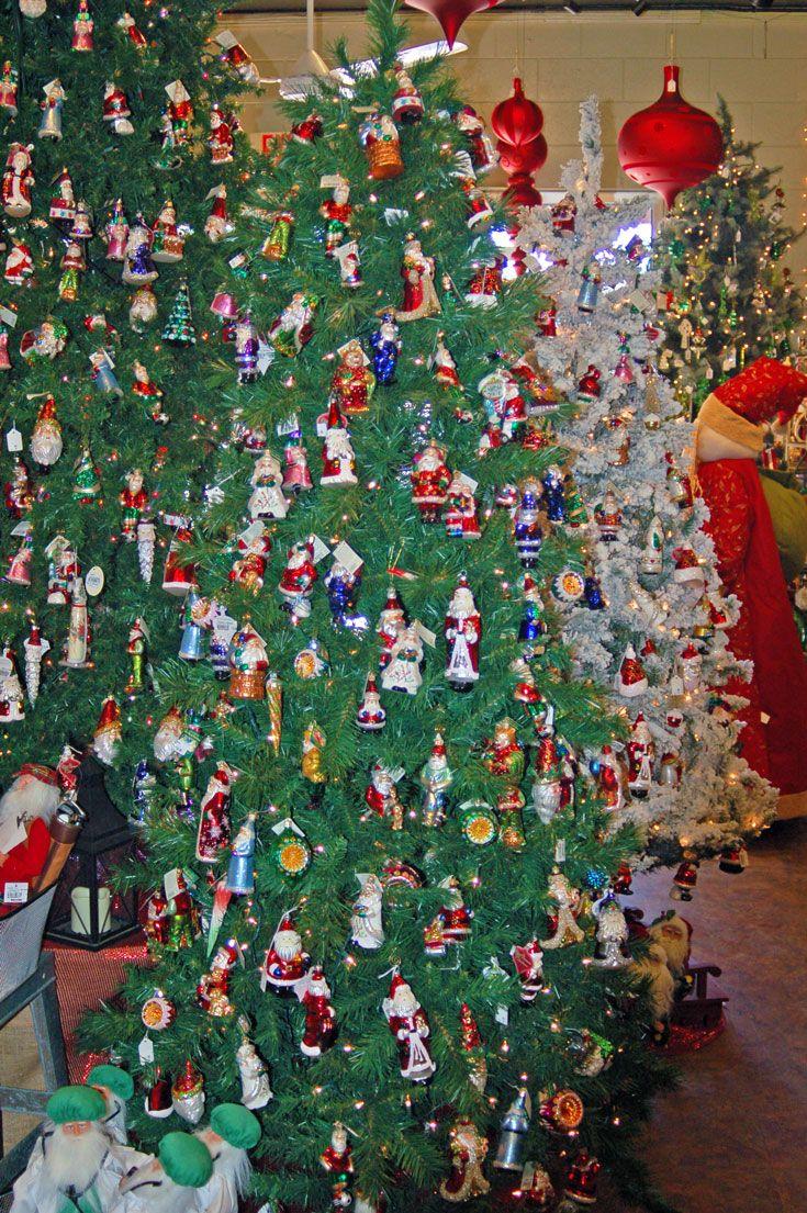 2015 holiday Christmas tree decoration display ornaments ...