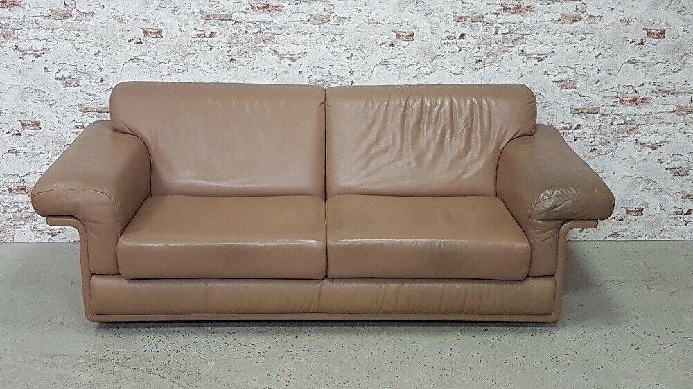 De Sede Ds 68 Leder Sofa Couch Designklassiker Daybed Vintage