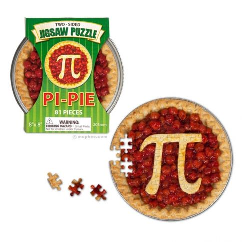 Pi Pie Jigsaw Puzzle From The Houston Museum Of Natural Science Online Store Pi Pie Jigsaw Puzzles Puzzle