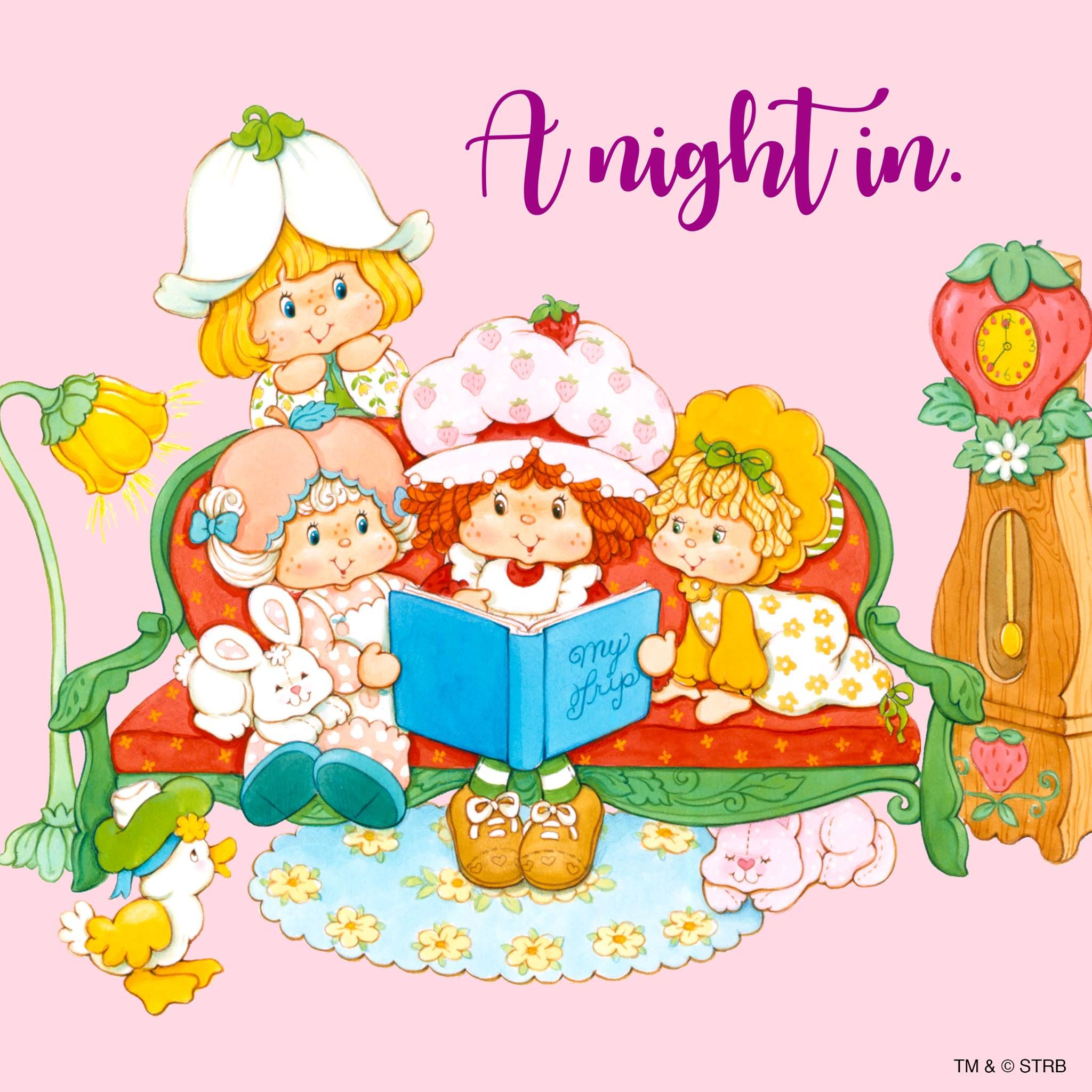 Vintage Strawberry Shortcake - A Night In | Strawberry shortcake ...