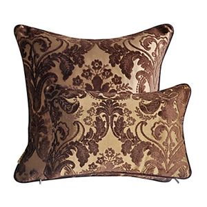 Set of 2 Polyester Decorative Pillow Cases 140