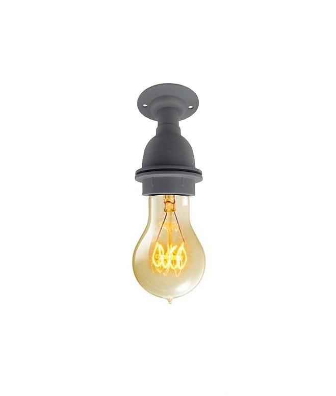 Iconic Vintage Style Lighting Vitreous Enamel Flush Mount Ceiling Wall Light Www