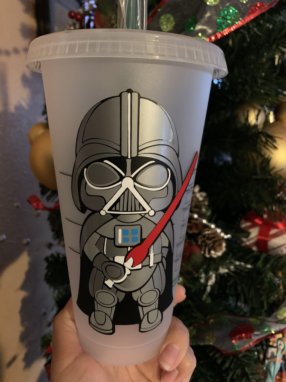 Darth Vader Inspired Starbucks Cup Baby Darth Vader Disney