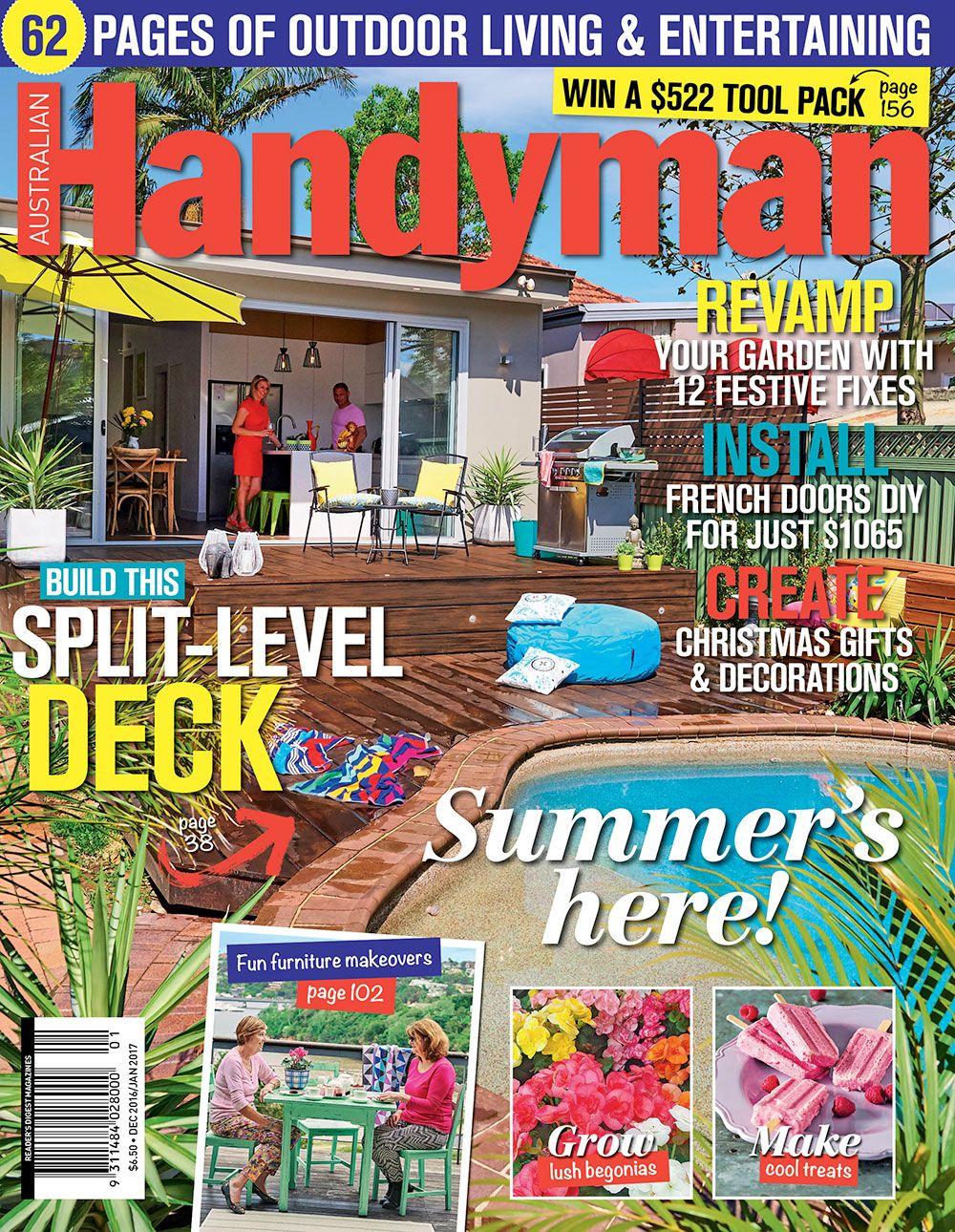 Australian Handyman Magazine December 2016 /January 2017