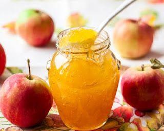 طريقة عمل مربى التفاح في المنزل بطريقة الشيف هالة فهمى مطبخ أتوسه على قد الايد Apple Juice Jelly Recipe Apple Jam Apple Juice