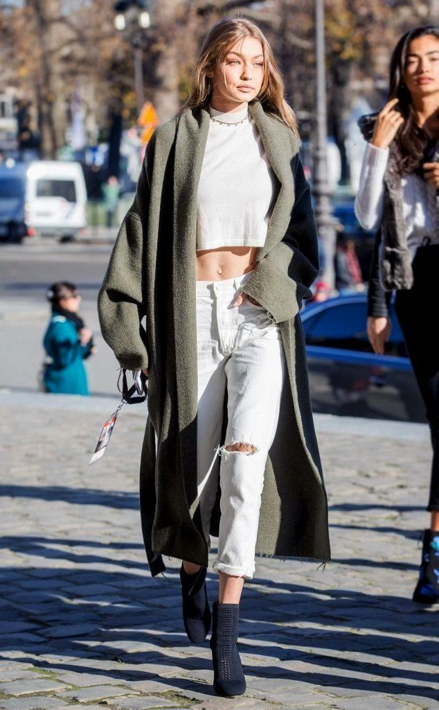 Hadid from Victoria's Secret Models Off-Duty Style  The It Girl model w#gigiGigi Hadid from Victori