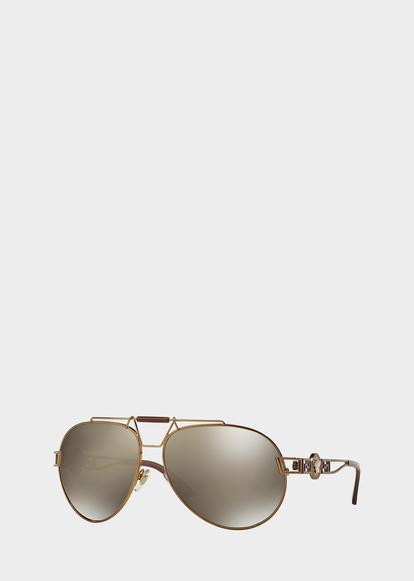 d2e6d327a54 Pilot bronze Signature Sunglasses - Brown Sunglasses