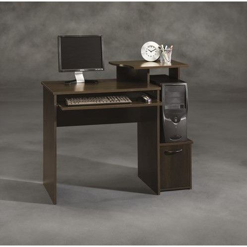 40 Inch Wide Dark Wood Computer Desk Computer desks, Desks and