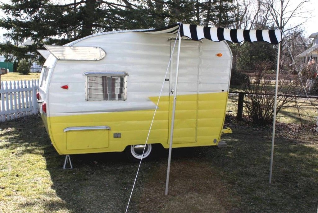 Small Awning For Your Vintage Trailer (With images
