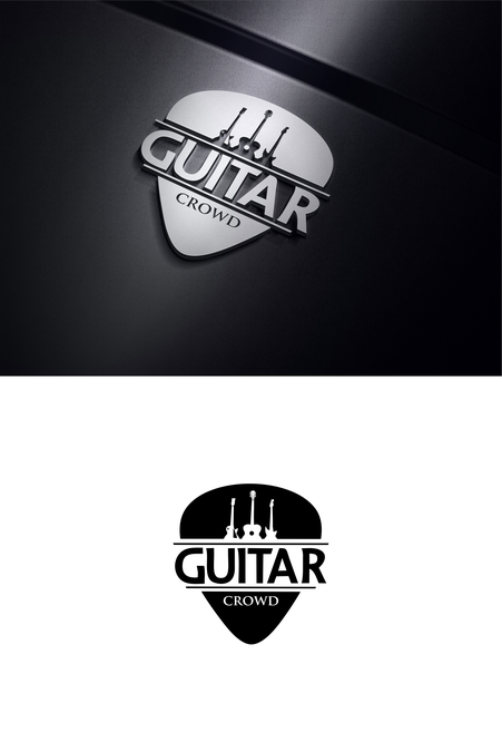 Create Logo Identity For Crowdsource Driven Guitar Instruction